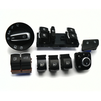 8 шт./компл. окно фара зеркало багажника и топлива дверной контрольный переключатель кнопки для VW Passat B6 3C0962125B 5ND959565B 5ND941431B