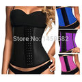 free shipping  latex waist cincher latex waist trainer waist corsets latex corset corselet corpetes e espart  without edge