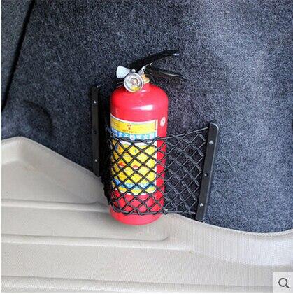 Car-Styling Trunk Seat Storage Net Pocket Bag For Cadillac CTS XTS SRX ATS CT6 ESCALADE