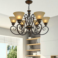 Lamps NEW Pendant Lights Dining Room Bedroom Lamps A Variety Of Styles Iron Retro Lamp Simple