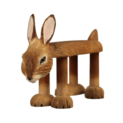 Solid wood cute bunny change shoes stool ornaments kids baby gifts childrens stool solid wood bench home stool home wood decorsSolid wood cute bunny change shoes stool ornaments kids baby gifts childrens stool solid wood bench home stool home wood decors