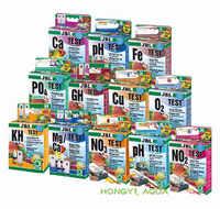 JBL acqua kit per il test di PH NO2 NO3 Ca Mg Cu O2 CO2 PO4 NH4 GH KH Fe acquario dolce maring acqua serbatoio di pesce