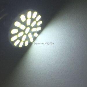 Image 4 - 500 stücke Neue BA15S P21W 1156 22 LED SMD Auto Auto Schwanz Seite Anzeige Lichter Birne Weiß 3014 DC 12V für auto