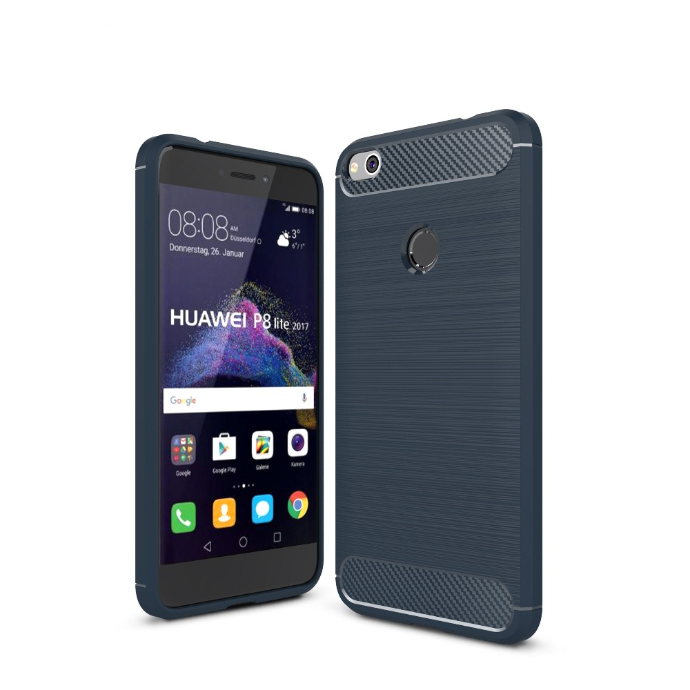 item image  Case for Huawei P8 Lite 2017 Cellphone Cowl Carbon Fiber Brushed TPU Cellular Cellphone Case Cowl for Huawei P9 Lite 2017 Shell HTB1UVp1QXXXXXb8XXXXq6xXFXXXp