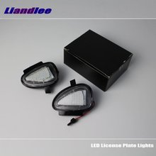 Liandlee For VW Golf Cabriolet 2012-2016 / LED Car License Plate Lights / Number Frame Light / High Quality LED Lamp 4d smart head massager electric head scalp massager handheld shampoo hair brush promote blood circulation hair growth 4 heads