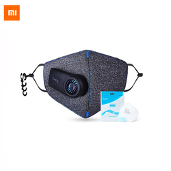 Original Xiaomi Purely Anti-Pollution Air Mask with 550mAh Battreies Rechargeable PM2.5 Filter for Sport