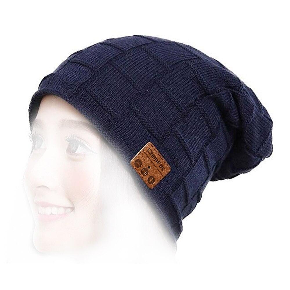I Go Bluetooth Beanie Hat - Parchment N Lead c0e3d4c73c94