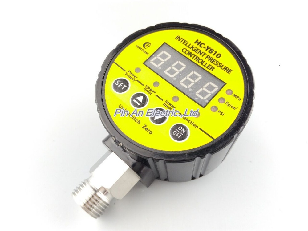 220V AC 0-40mpa Pressure switch / air compressor switch / pump electronic pressure switch/electronic pressure switch 13mm male thread pressure relief valve for air compressor