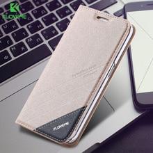 FLOVEME For Samsung S8 Plus S7 Edge Case Card Slot Flip Leather Case Cover For Samsung Galaxy S5 S6 S7 Edge / S6 Edge Plus Cases