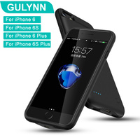 New 2018 GULYNN Battery Charger Case For IPhone 6 Plus 6s Plus Battery Case 2500 3200mAh