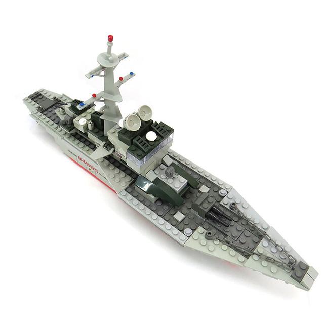 228pcs/set Cruise Ship Small Particles Building Blocks