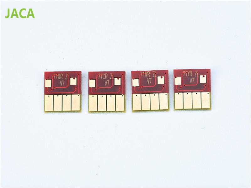 4PCS 711 Cartridge chip For HP Designjet T120 T520 chip for HP 711 ink cartridge 2pk compatible for hp 711 hp711 black ink cartridges for hp designjet t120 t520
