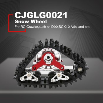 Snow Track Wheel Conversion Tire Snow Tire Buggy Wheels Snow Sand Paddle Tires Tyre For RC Crawler Car D90 Axial SCX10 RC Parts