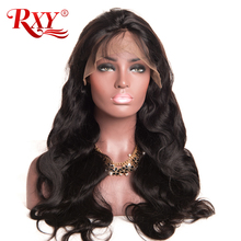 RXY Glueless Lace Front Human Hair Wigs With Baby Hair 150% Density Body Wave Wig Brazilian Hair Wigs For Black Women Non-Remy