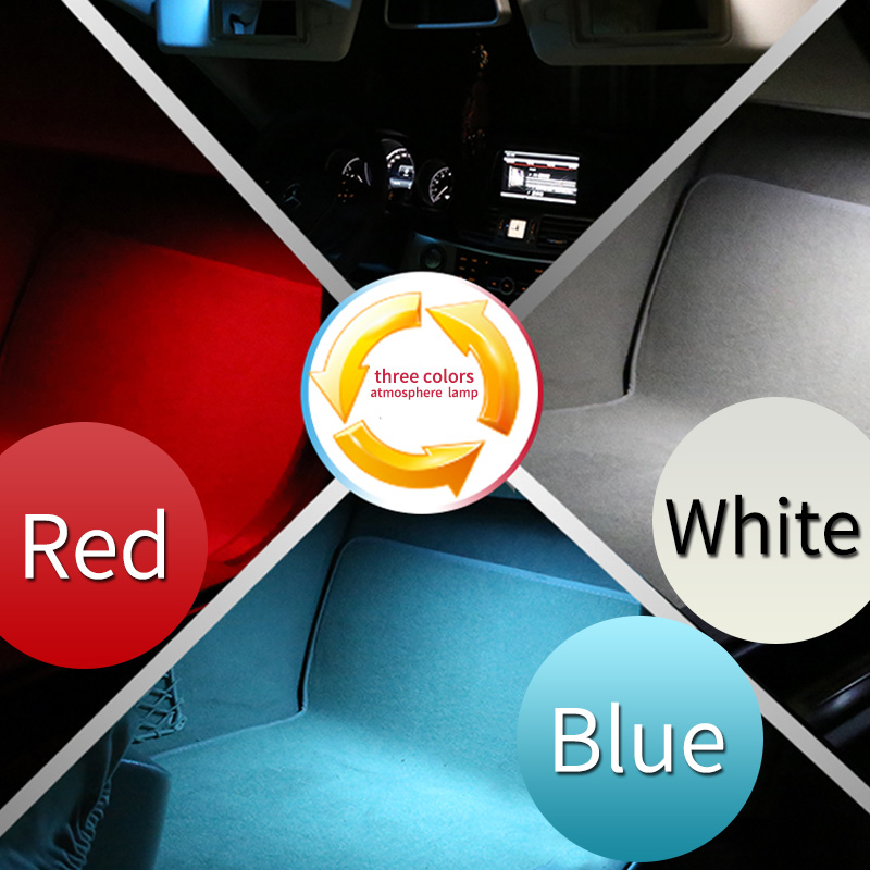 Auto Parts Soles Ambient Light For Mercedes Benz GLE Coupe C292  ML350 320 W166 GL X166 GLS   Interior Foot Lights