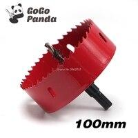 100mm 3 94 Bi Metal Wood Hole Saws Bit For Woodworking DIY Wood Cutter Drill Bit