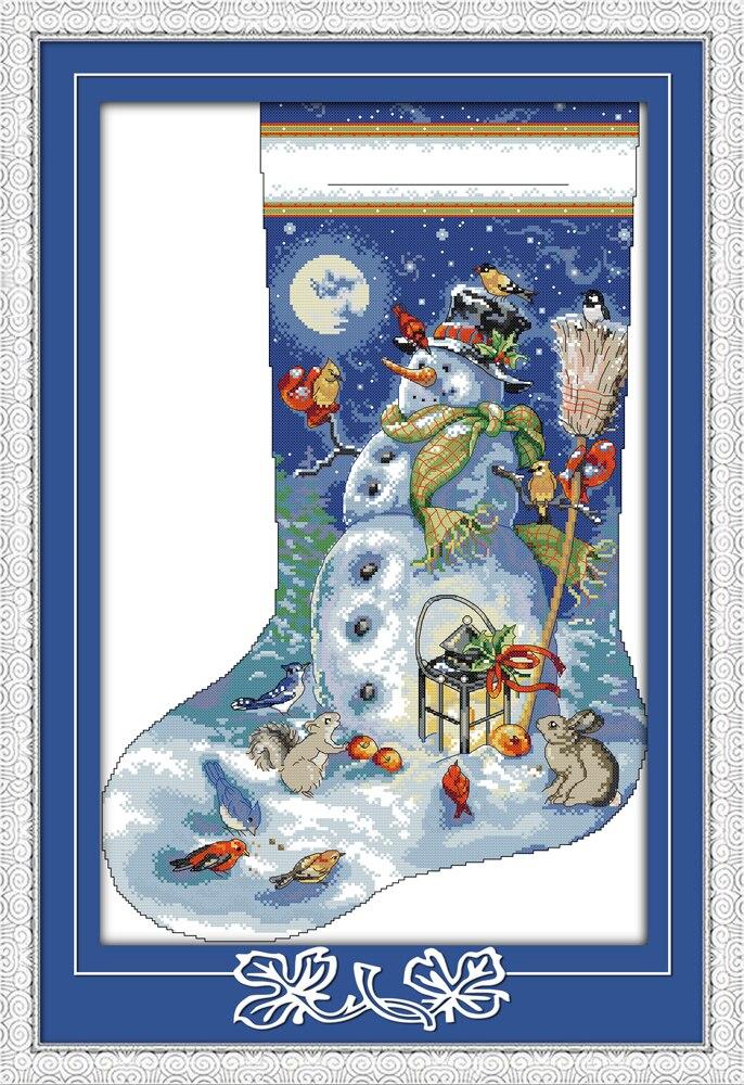 Christmas Cross Stitch Stocking Kits