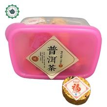 2012 Chinese mini bowl Pu er tea Gross Weight:120g Yunnan old ripe tea puer tea green organic tuo pu erh weight loss slimming