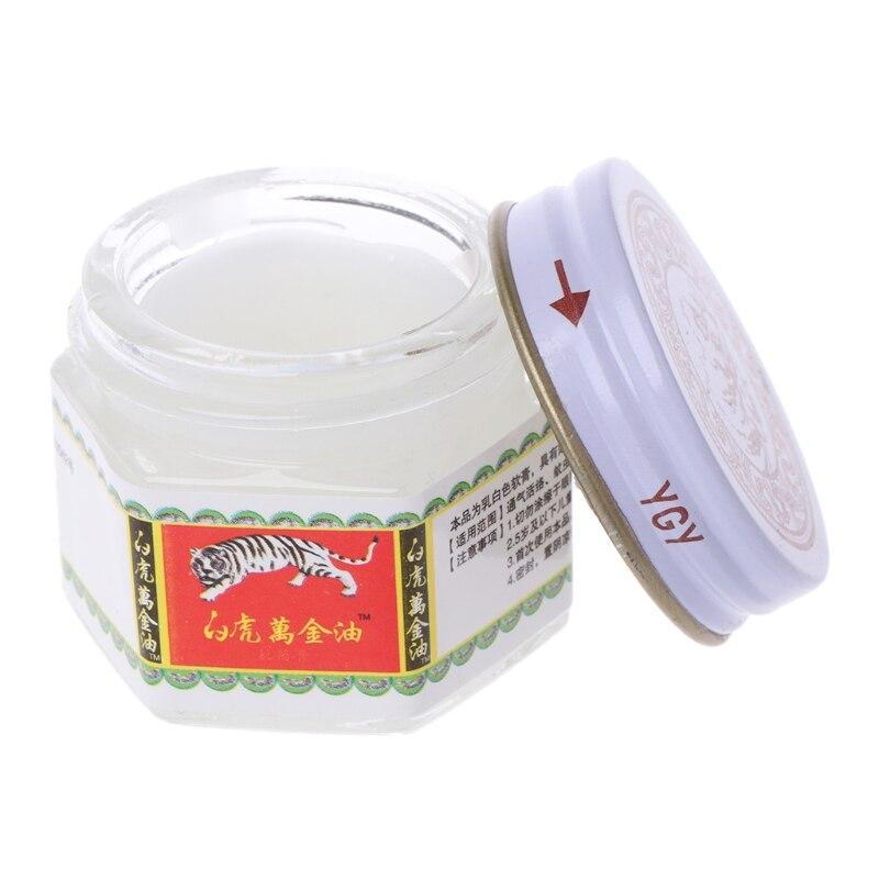 20g/Bottle White Balm Ointment Massage Pain Reliefs Muscle Rub Sprains Aches