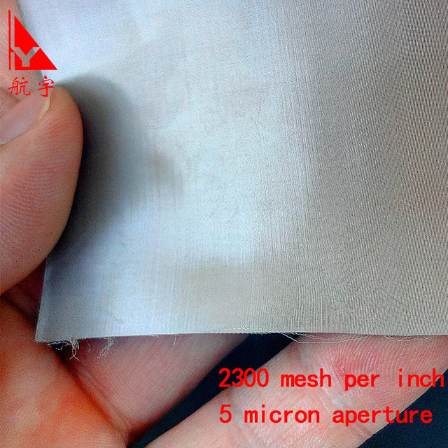 Online Shop SS316 stainless steel wire mesh 2300 mesh stainless ...