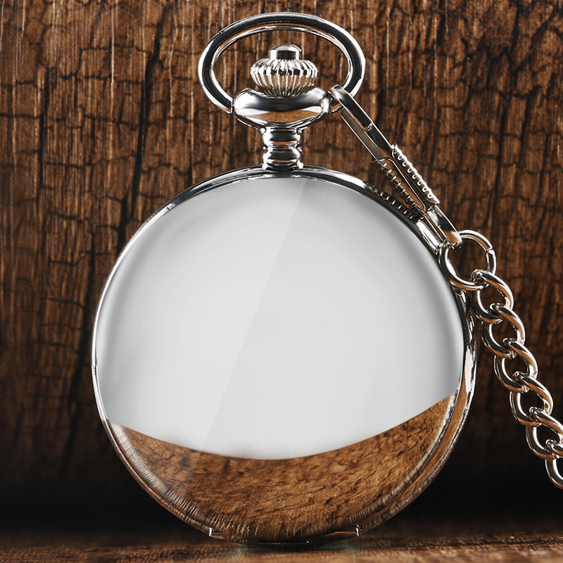 2017 Hot Selling Smooth Silver Round Vintage Watch Fashion Quartz Pocket Watch Necklace For Men Women Birthday Gift Clock P302C 2016 aladdin and the magic lamp watch the young men and women fashion quartz pocket watch table birthday gift ds262
