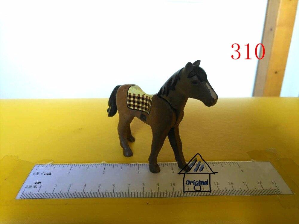 playmobil pretend toy animal horse panda family big shark Action Figures mini figure child toys gift