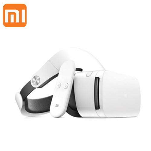 Original Xiaomi VR 3D Virtual Reality Glasses 103 Degree FOV Object Distance Adjustment with Remote Controller original xiaomi vr box mi vr play 2 immersive 3d virtual reality glass headset work for xiaomi wifi app remote control fov93