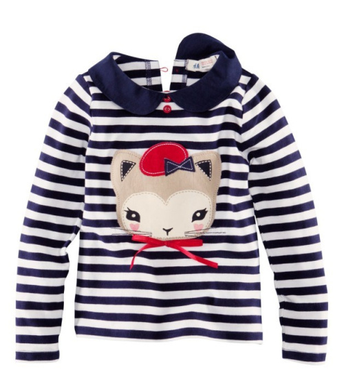 Gold treasure Kids Clothes Child Clothing T shirts Top Long