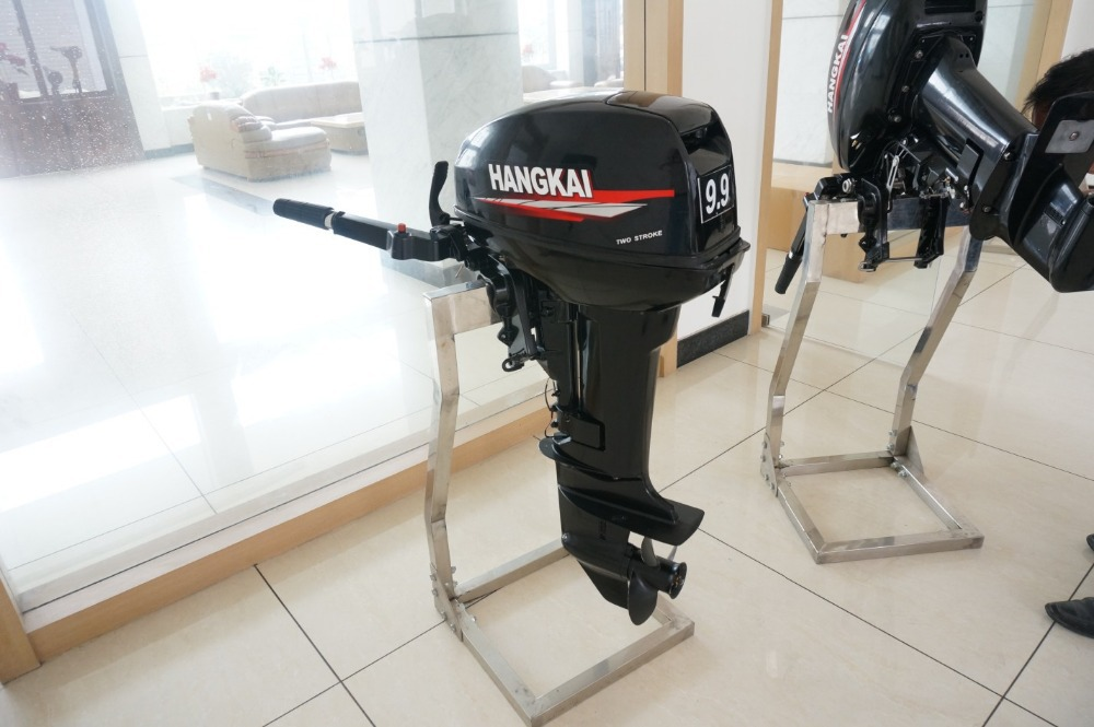 US $1008 37 |Whosale Chinese New Cheap Hangkai Portable 9 9hp 2 Cylinder 2  Stroke Outboard Motors Online for Sale-in Boat Engine from Automobiles &