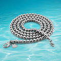 New arrival!!!2014 brand new Men's beads fashion 925 sterling silver necklace beads chain