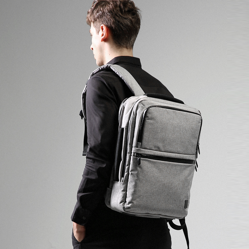 Fashion Business Backpack Women Men Laptop Backpacks School Bags Female Male School Bag Student Anti thief Travel Bag in Backpacks from Luggage Bags