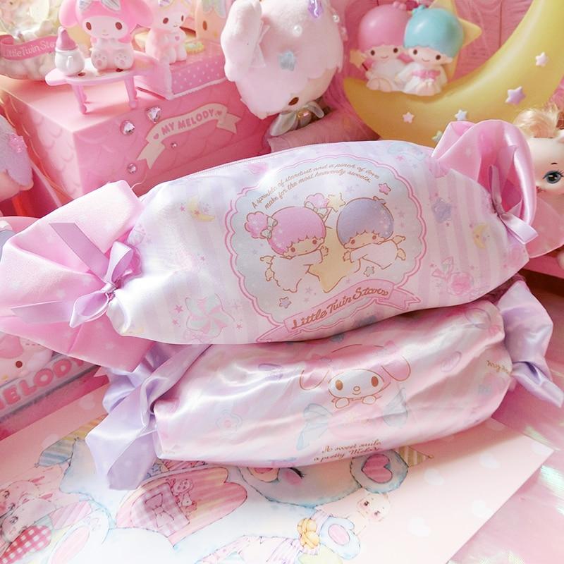 6c152a6f9d7 ... super popular 5b265 396c5 Cartoon Candy Hello Kitty My Melody  Cinnamoroll Dog Pudding Dog Cosmetic Bags ...