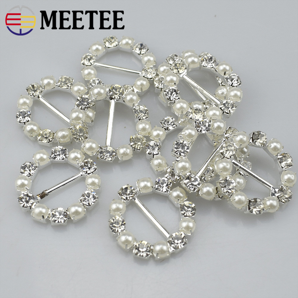 Arts,crafts & Sewing 10pcs Soft Crystal Stones Drill Wear Ribbon Slider Buckle Clothes Accessories C2-26