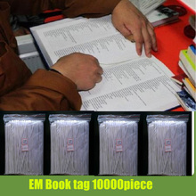 10000 piece deactivate eas tag for books,reusable library security tag library stickers 16cm