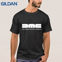 DMC DeLorean Back To The Future Film Camisa Latest Men Black Tee Shirts China O Neck