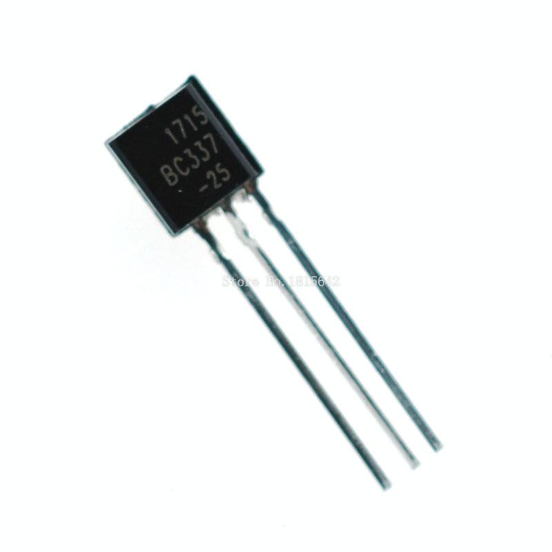 100PCS BC337 BC337-25 NPN TO-92 500MA 45V Transistor High quality
