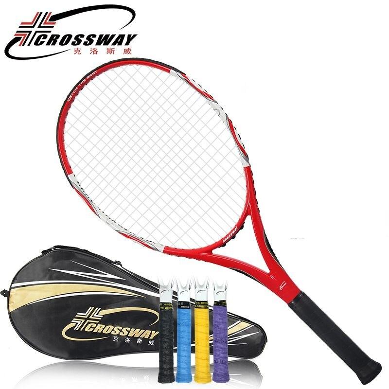 racket tennis High Quality Carbon Fiber Tennis Racket CROSSWAY Brand Tennis Racket with Bag For Men and Women цена