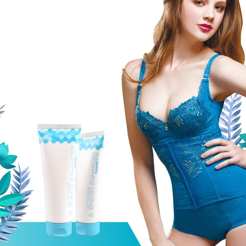 Freezeframe Non hormonal Enlargement Gel Non surgical Larger Looking Breast Enhancer Massage Cream for Big Bust