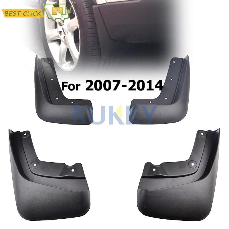 Garde-boue avant arrière pour VOLVO XC90 2007-2014 garde-boue 2008 2009 2010 2011 2012 2013 garde-boue garde-boue garde-boue