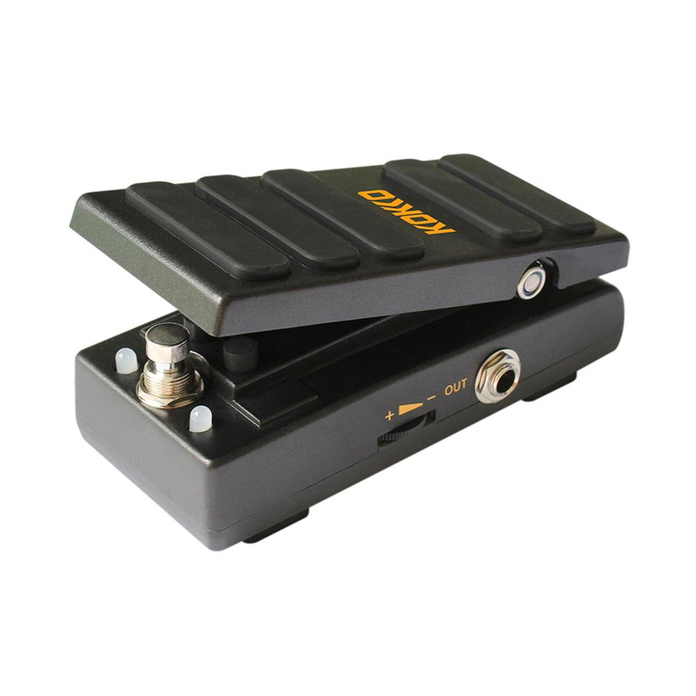 KOKKO KW-1 Electric Guitar Pedal Vintage Wah Sound Guitarra Effects Metal Shell Guitar Part Accessories For Guitar Lovers kw 1 multi function guitar 2 in 1 mini volume wah pedal toy musical instrument