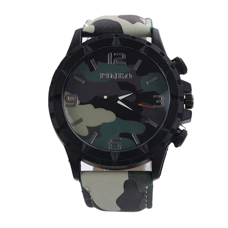 Watch Men Women Watches Fashion Student Camouflage Sports Watch Unisex Belt Military Sports Quartz Watch Relogio Masculino