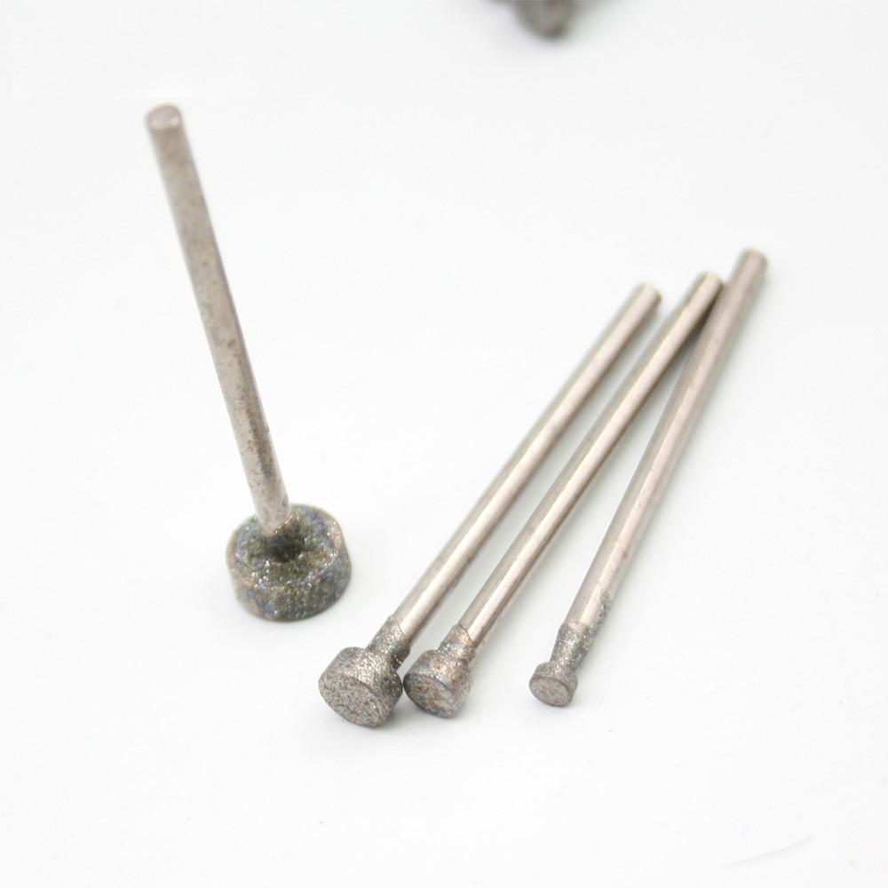 2.35mm tige Fine grade E-Type Extrémité plate Diamant abrasifs bits - Abrasifs - Photo 4