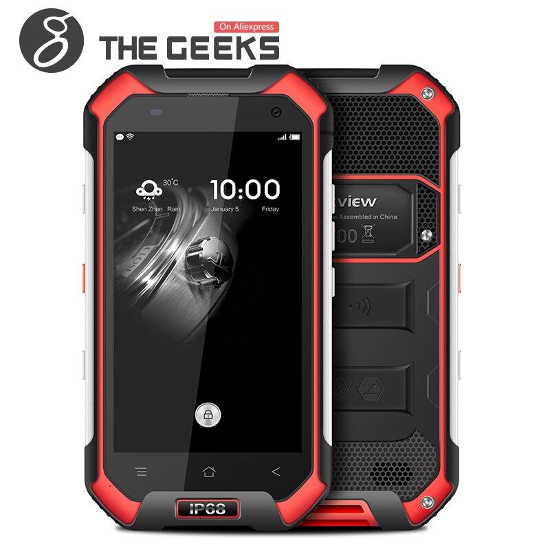 Origine Blackview BV6000 MTK6755 Octa Core4G LTE Mobile Téléphone 4.7 pouce 3 gb + 32 gb Android 6.0 4200 mah 5MP + 13MP Étanche Téléphone