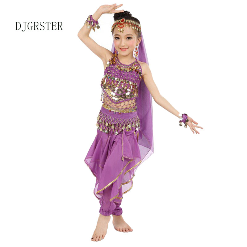 b336a4cff ריקודי בטן - DJGRSTER Indian Sari Girl Dress Orientale Enfant Indian ...