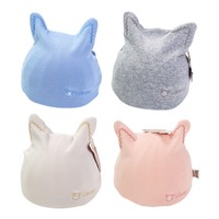 Baby 1 6 Months Unisex Infant Girl Boy Rabbit Ear Elastic Hat Casual Cap Cotton Soft Hair Accessory Hats