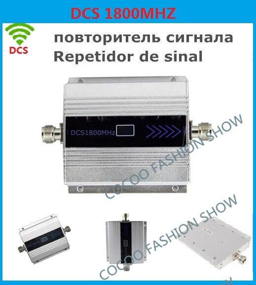 ЖК-Дисплей GSM Репитер 1800 МГц Booster Сотовый Усилитель Сигнала Приемники booster DCS 1800 ретранслятор Мобильный Телефон усилитель Сигнала