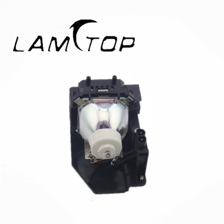 FREE SHIPPING  LAMTOP  180 days warranty  projector lamps with housing  NP07LP for  NP400+/NP400C projector light tunnel for np v260x free shipping