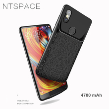 NTSPACE 4700mAh Battery Charger Case For Xiaomi Mi MIX 2S Backup Power External Bank Pack Charging Cover