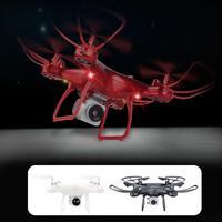 HD caméra hélicoptère en direct Selfie vol stationnaire professionnel Intelligent LED éclairage 3D Flips USB Charge avion Drone Durable|Drones à caméra| |  -