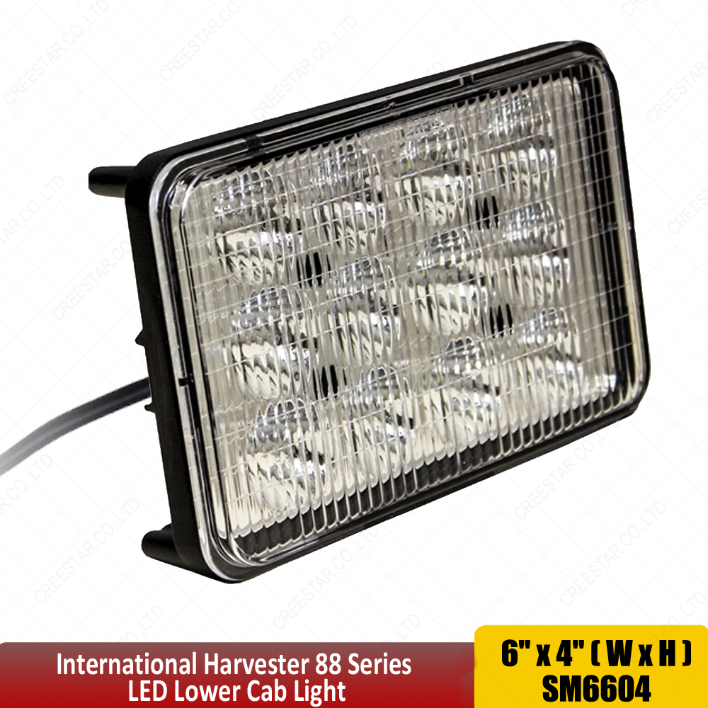 Led Headlights Sealed Beam Tractor : Chalmers tractor led fender light mahindra starter wiring